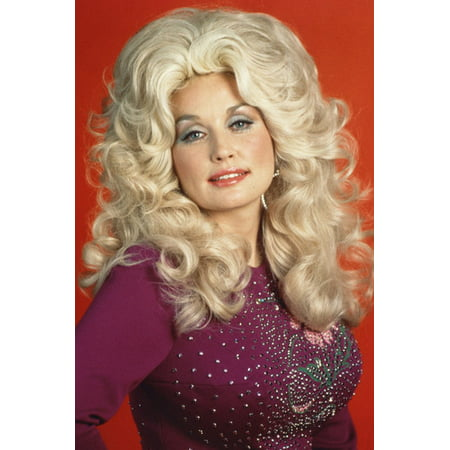 Dolly Parton Color Long Blonde Hair 70's 24X36 (70's Hair)