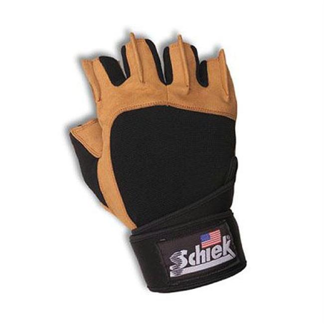 Schiek SSI-425-2XL Power Gel Lifting Gloves with Wrist Wraps 11 12 2X-Large