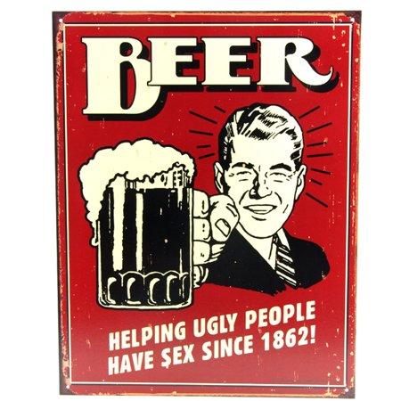 Tin Sign Budweiser Beer (Beer Since 1862 Tin Sign )