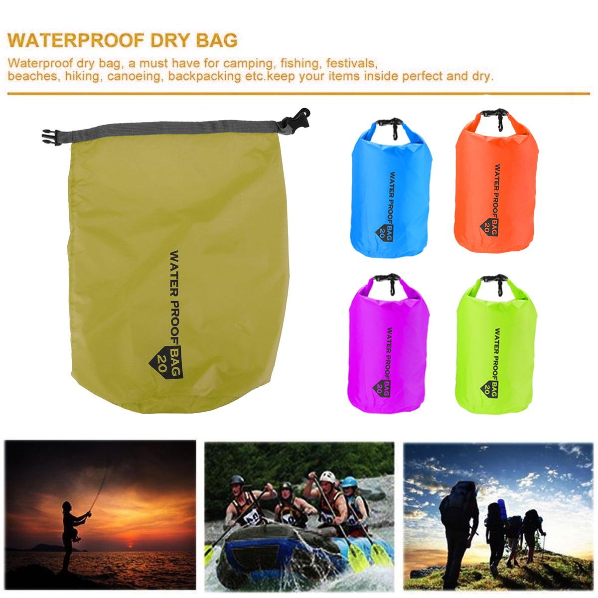 100/% Waterproof DRY BAG Sack Canoe Kayak Camping Hiking Sailing Fishing 20-70L