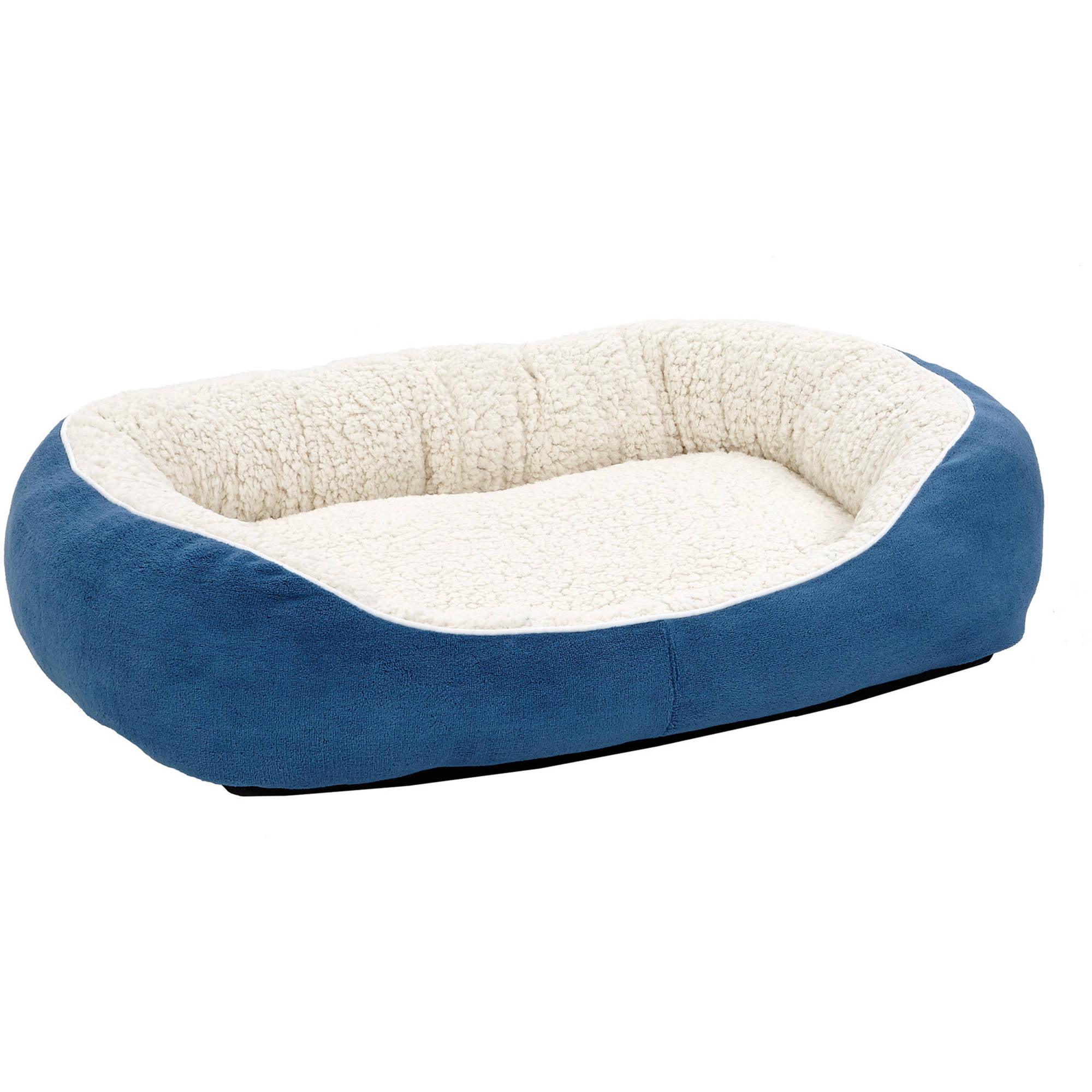Midwest Medium Blue Cuddle Bed Walmart