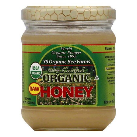 YS Organic Bee Farms Organic Raw Honey, 8 OZ (Pack of (Ys Eco Bee Farms Organic Raw Honey)