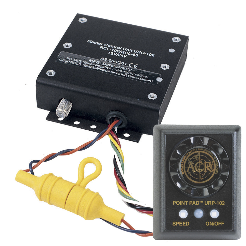 ACR UNIVERSAL REMOTE CONTROL KIT FOR RCL-50 & 100 by Acr Electronics