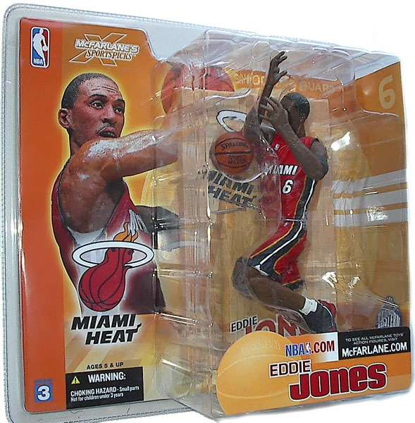 McFarlane NBA Sports Picks Series 3 Eddie Jones Action Figure [Red Jersey]