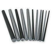 PBC Linear NIL12-048.000 Shaft, RC60 Steel, 0.750 In D, 48 In