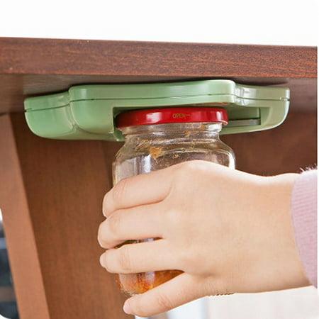Jar Countertop (Jar Opener Under Kitchen Cabinet Counter Top Lid Remover Arthritis Pack)