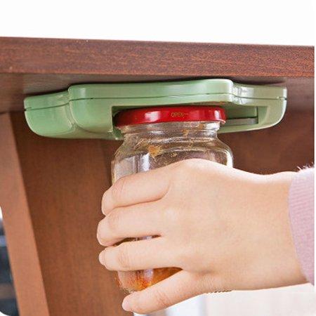 Jac Top (Jar Opener Under Kitchen Cabinet Counter Top Lid Remover Arthritis Pack )