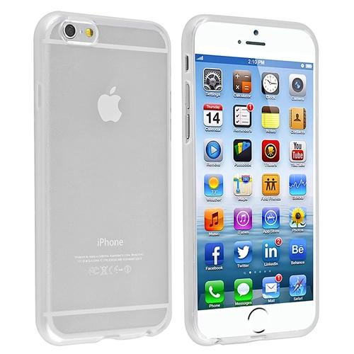 "Insten Clear TPU Slim Skin Gel Rubber Cover Case For iPhone 6 6S 4.7"" Inches"