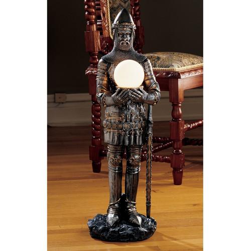 Design Toscano Sir Percival's Illuminated Statue