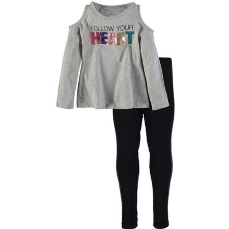 ee9e2b8ac23e9 Kidtopia - Kidtopia Big Girls  2-Piece Outfit (Sizes 7 - 16) - Walmart.com