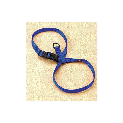 Hamilton Pet Products Adjustable Figure Eight Cat / Pup Harness in Blue