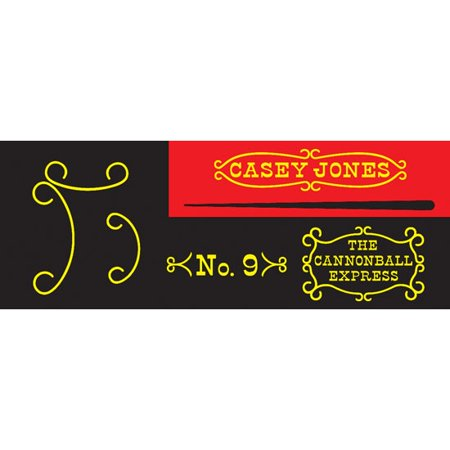 Garton Casey Jones 1960-62 Pedal Car - Casey Jones And April O Neil