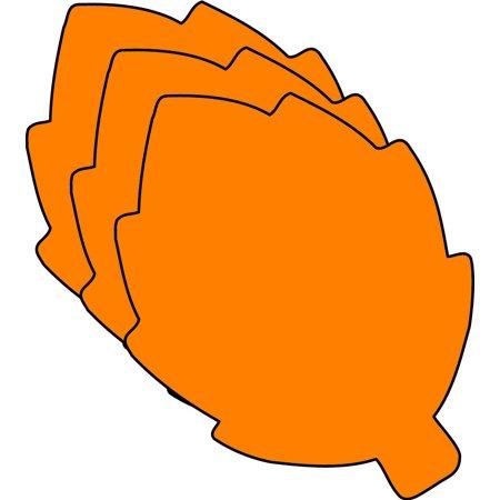 - Small Single Color Creative Foam Cut-Outs - Fall Leaf