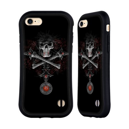 OFFICIAL ANNE STOKES TRIBAL HYBRID CASE FOR APPLE IPHONES PHONES - Skull Candelabra
