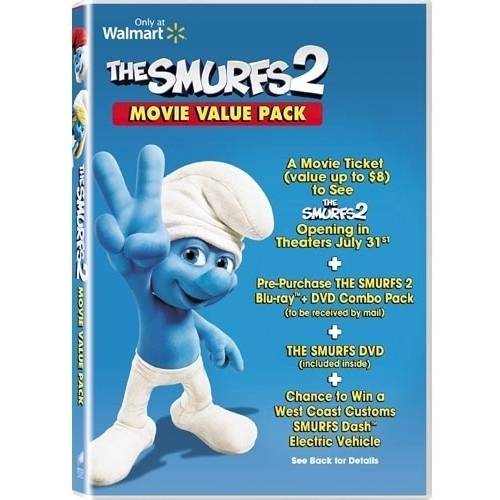 The Smurfs 2 (Pre-Purchase Blu-ray + DVD + VUDU) (With INSTAWATCH) (Widescreen)