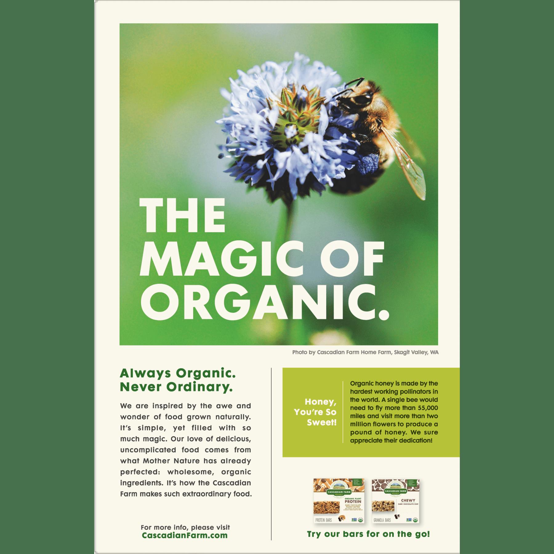 Cascadian Farm Organic Granola Oats & Honey Cereal 16 oz