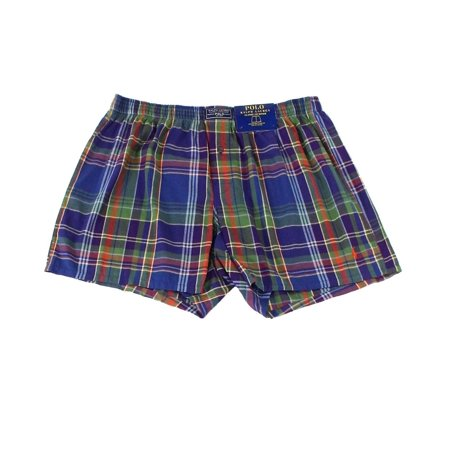Polo Ralph Lauren Mens Small Woven Plaid Boxer Underwear (Ralph Lauren Mens Brief Underwear)