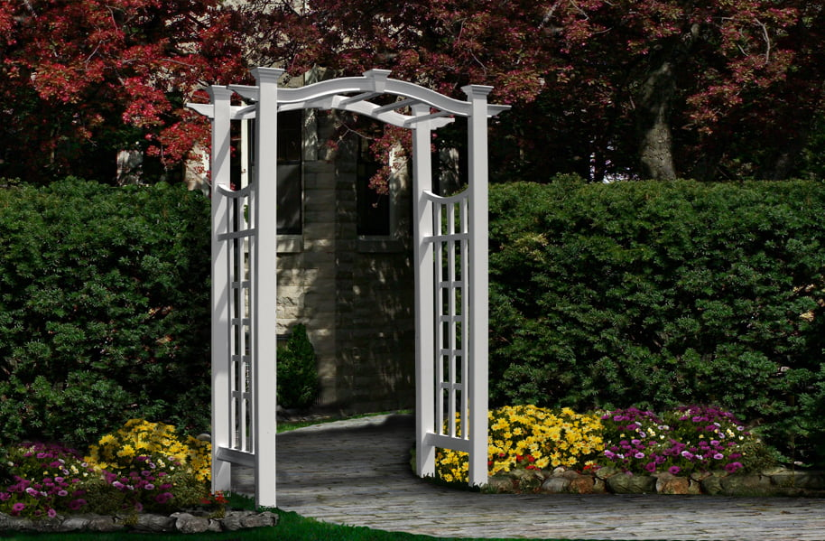 Florence Arbor by New England Arbors
