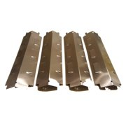 Set of four heat plates for Gas Grill Models from Char-broil, Brinkmann, Kenmore, Thermos and other manufacturers