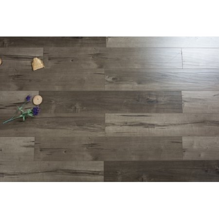 Walnut Laminate Flooring - Stony Brook EIR 12 mm Thick x  7.72 in. Width x 47.83 in. Length HDF Laminate Flooring (15.38 sq. ft/ case)