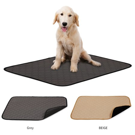 Washable Pee Pads for Dogs - Waterproof Dog Mat Non-Slip Puppy Potty Training Pads, Reusable Whelping Pads for Dog,Rabbit, Cats ()
