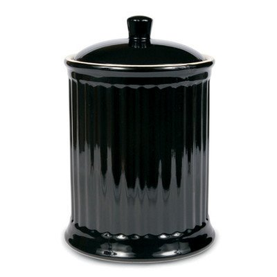 Omni Simsbury Extra Large Canister / Cookie Jar - Black