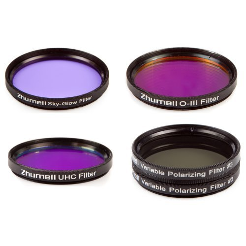 Zhumell 2 Inch SEE IT ALL Telescope Filter Set