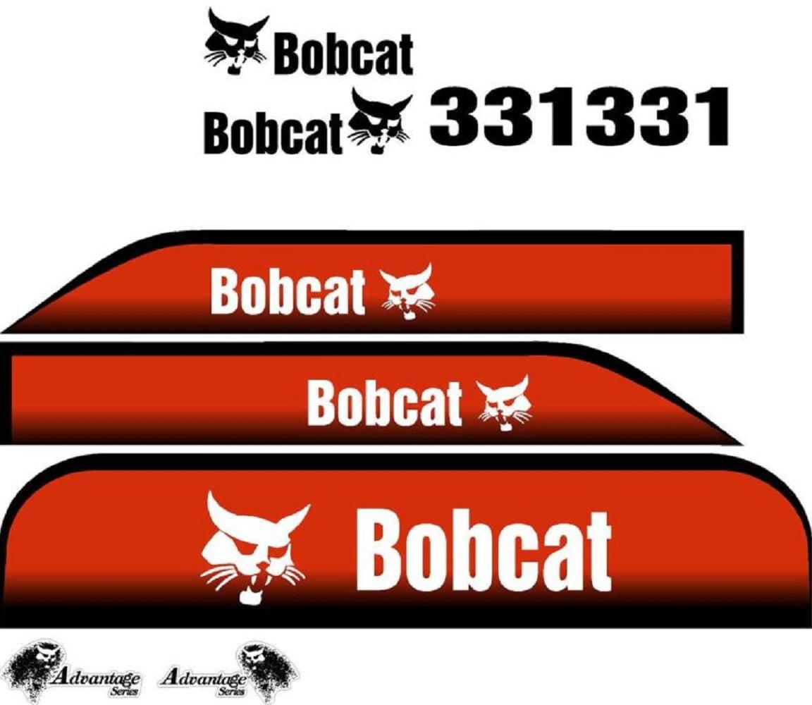 331 New Excavator Bobcat Decal Set Whole Machine w  Advantage Series Decals by Aftermarket Bobcat