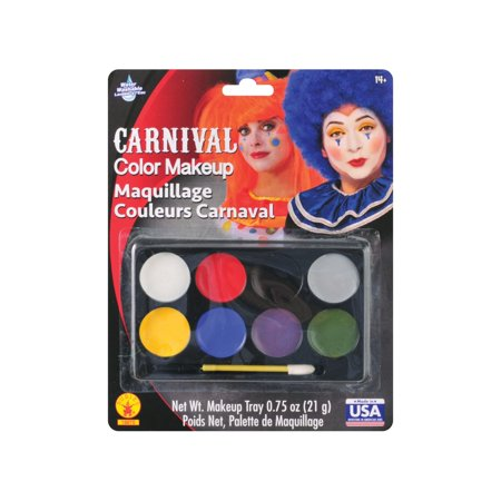 Halloween Carnival Color Makeup Kit - Makeup Artist Halloween Ideas