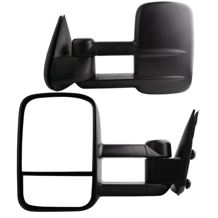 2006 Chevy Silverado Manual (Manual Towing Mirrors Pair for 99-07 Chevy Silverado GMC Sierra)