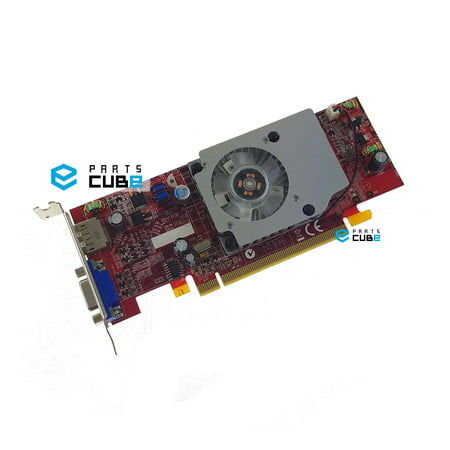 NEW ATI Radeon HD 3470 256MB PCIe x16 VGA Video Card with Low Profile (Graphics Hdmi Ati Radeon)