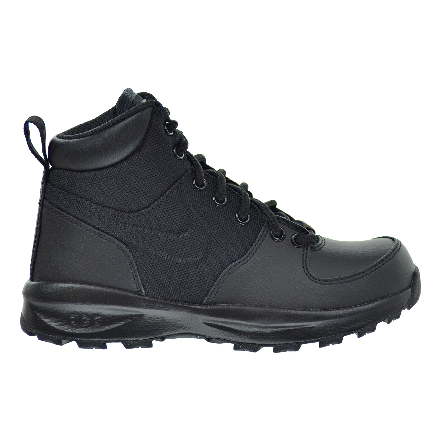 Nike Air Manoa Leather Textile (GS) Big Kids ACG Boots Bl...