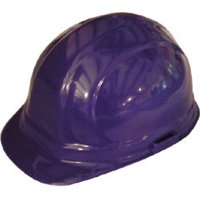 Inexpensive OSHA Hard Hats - Omega 2 Cap Style with pin lock suspensions - White