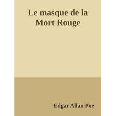 Le masque de la Mort Rouge - eBook (Masque D'halloween De Vampire)