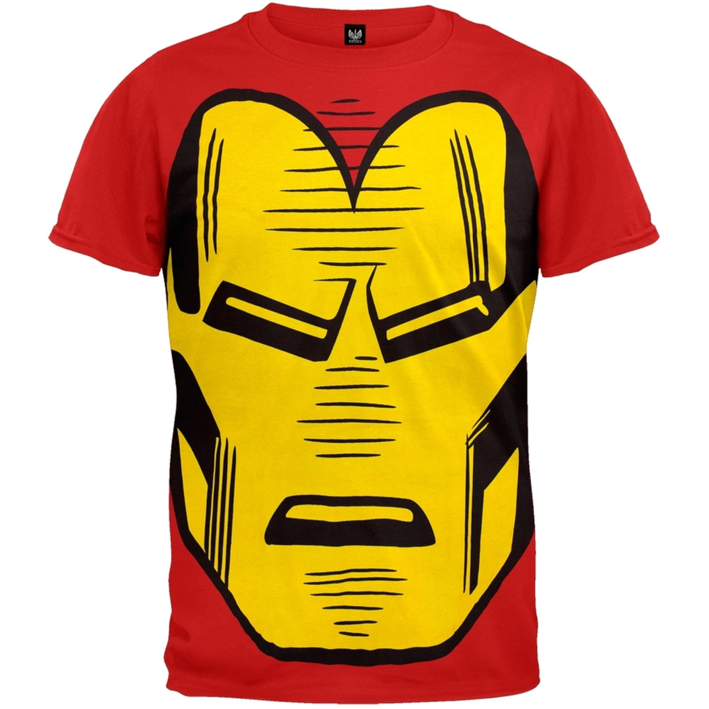 Iron Man - Big Head Subway T-Shirt