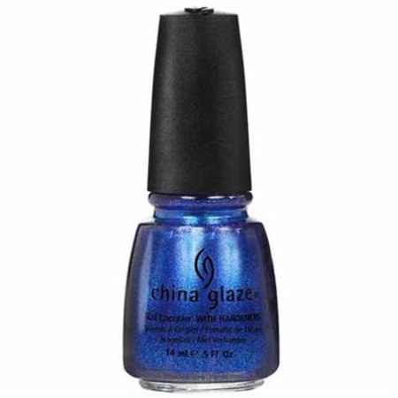 - Blue Year's Eve 80521 Nail Polish [Misc.], Vivid blue nail color with semi-transparent jelly base and light blue glass fleck shimmer By China Glaze
