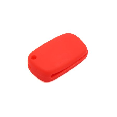 Red Silicone Tow Button Car Remote Key Cover Case Protective for Renault Kadjar - image 2 of 5