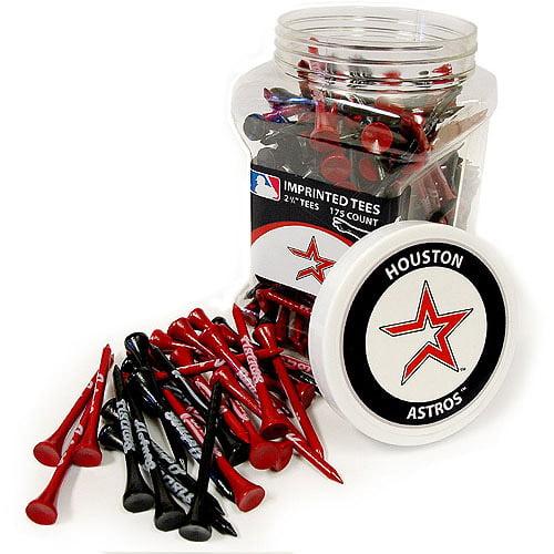 Team Golf MLB Houston Astros Jar Of 175 Golf Tees