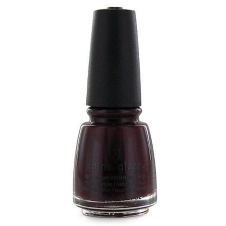Nail Polish-Conduct Yourself 81855, Vampy, dark blood red creme nail color with hidden shimmer By China Glaze](Do Halloween Nails Yourself)