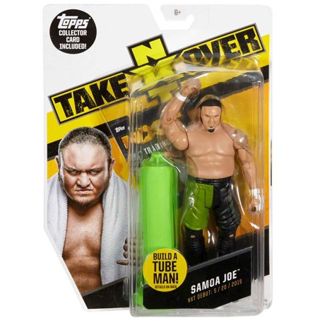 Tube Map (WWE Wrestling NXT Takeover Samoa Joe Action Figure [Build A Tube Man!])