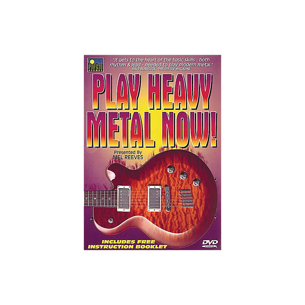 Music Sales Play Heavy Metal Now! Music Sales America Series DVD Written by  Mel Reeves