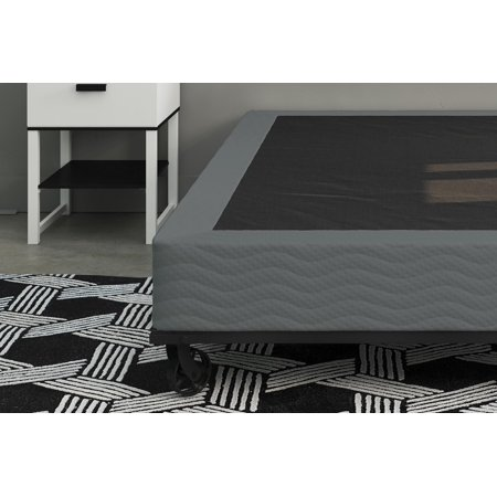 belham living 7 inch folding metal box spring easy assembly mattress foundation multiple sizes. Black Bedroom Furniture Sets. Home Design Ideas