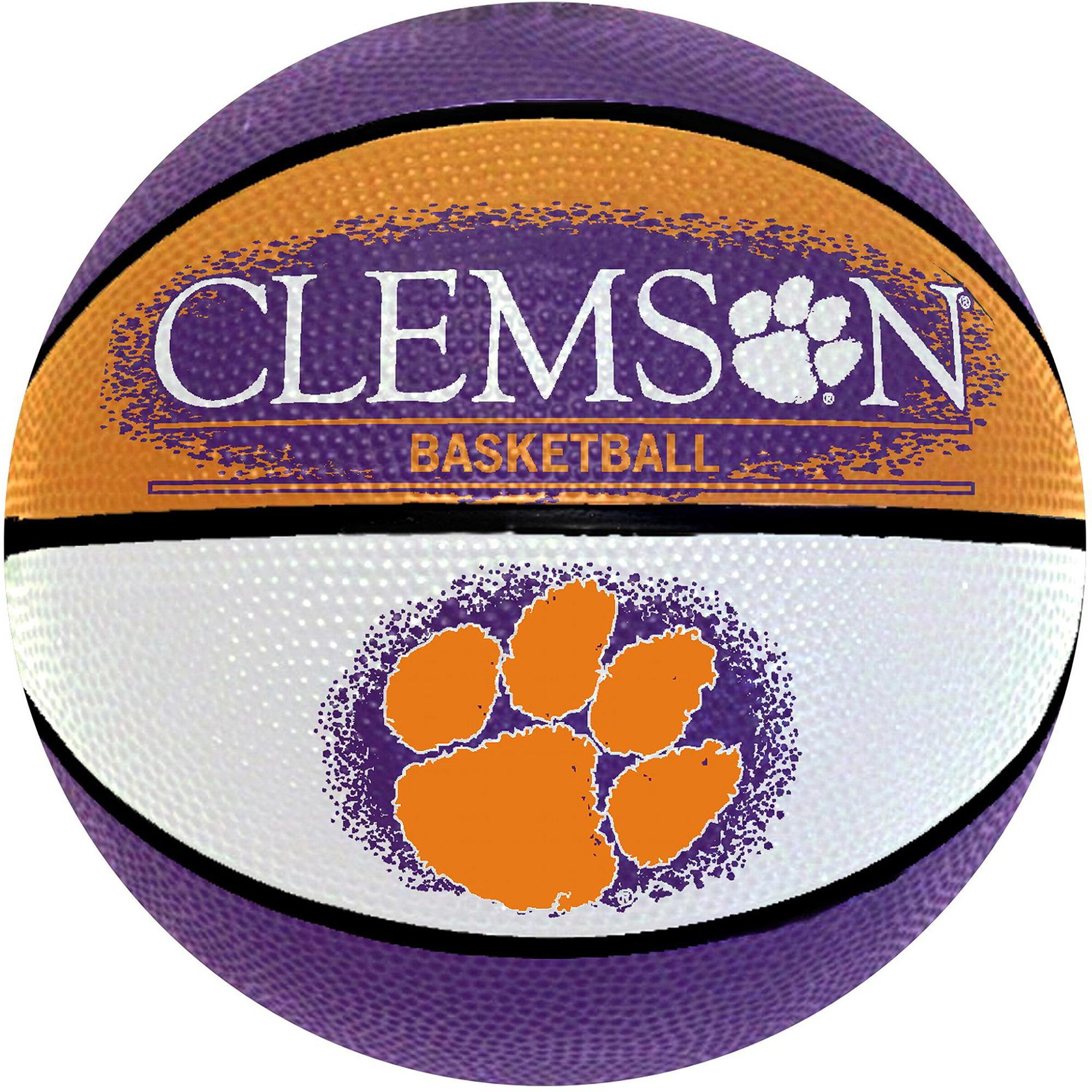 "Wilson NCAA 7"" Mini Basketball, Clemson University Tigers"