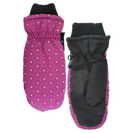 Cold Front Girl's Star Ski Mitten