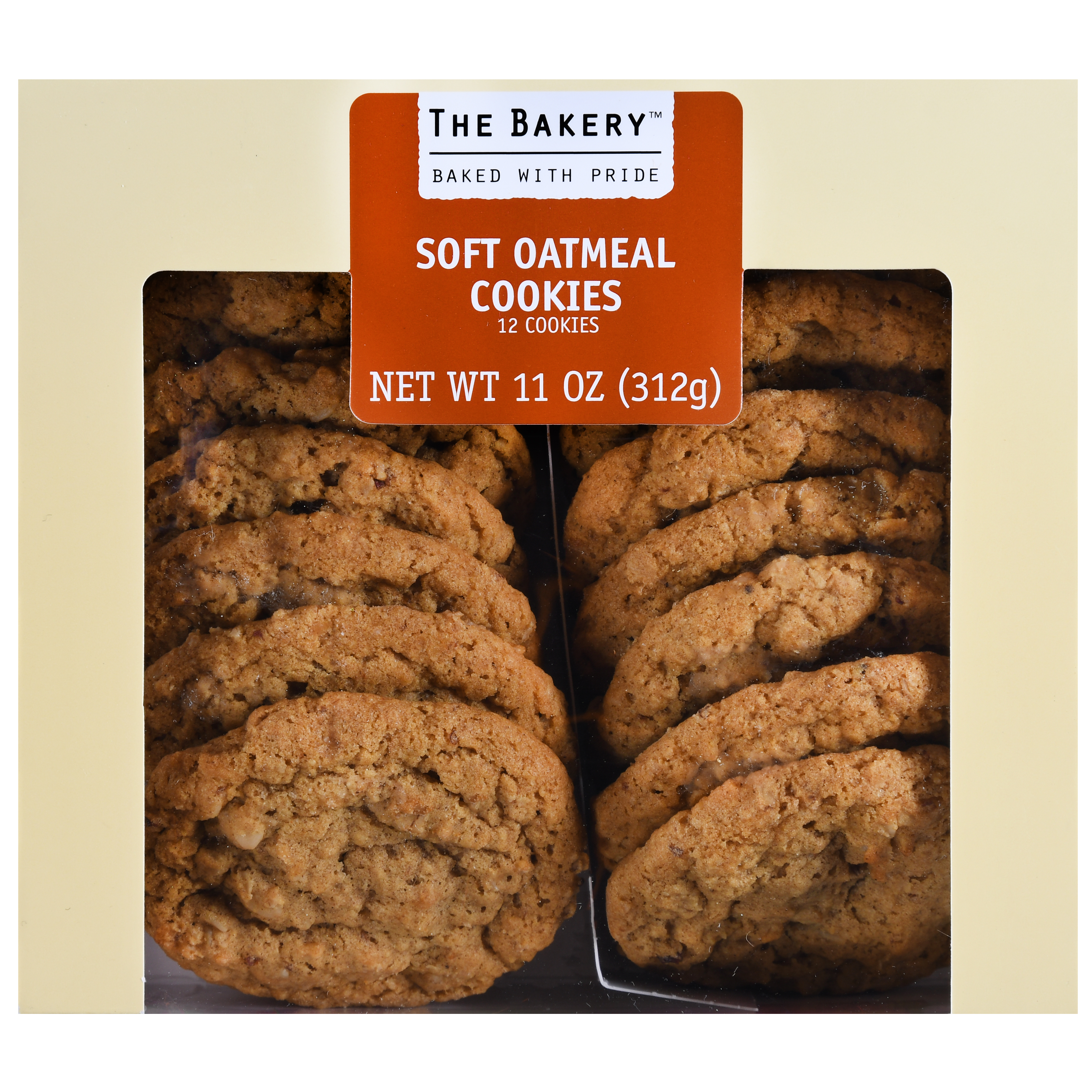 The Bakery At Walmart Soft Oatmeal Cookies, 11 oz