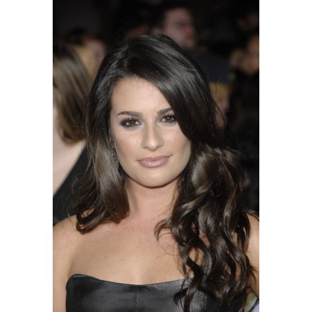 Lea Michele At Arrivals For The Twilight Saga New Moon Premiere Mann Village And Bruin Theaters Los Angeles Ca November 16 2009 Photo By Michael Germanaeverett Collection Photo Print