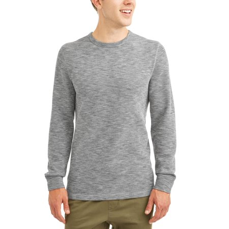 George Mens Long Sleeve Thermal Crew, up to size 5XL