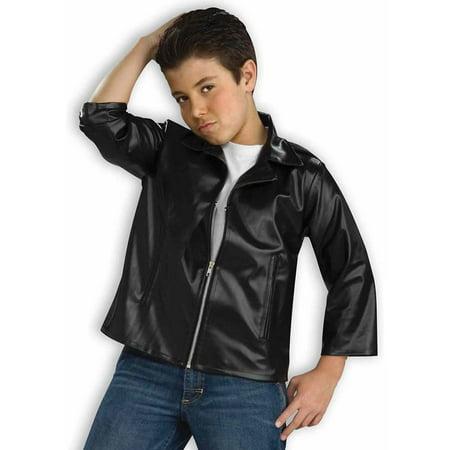 Kids 50s Greaser Costume Jacket - Walmart.com