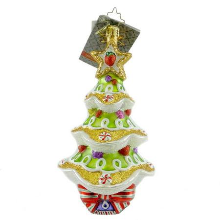 Christopher Radko SWEET SPRUCE Blown Glass Ornament Christmas Tree (Spruce Ornament)