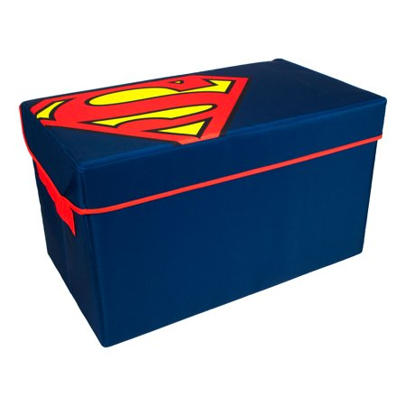 Superman Collapsible Toy Chest   DC Comics   Everything Mary (Superman Chest Plate)
